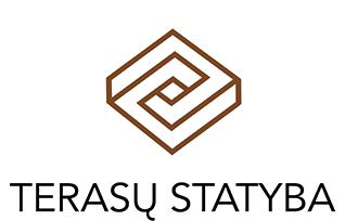 Terasustatyba.lt Logo