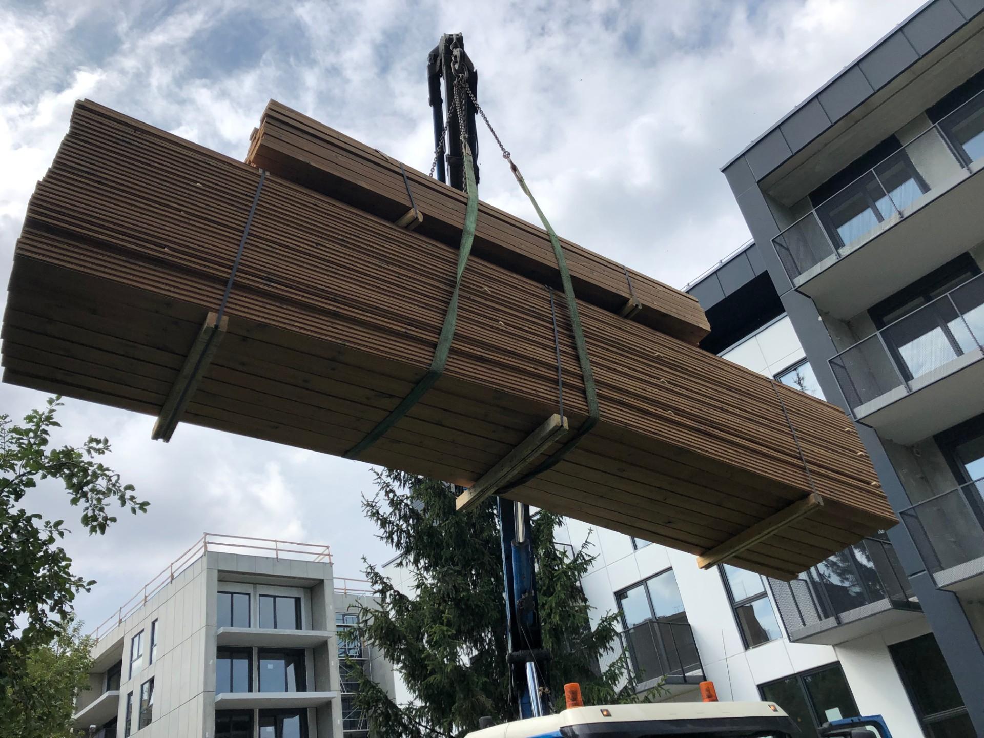 terasų statyba