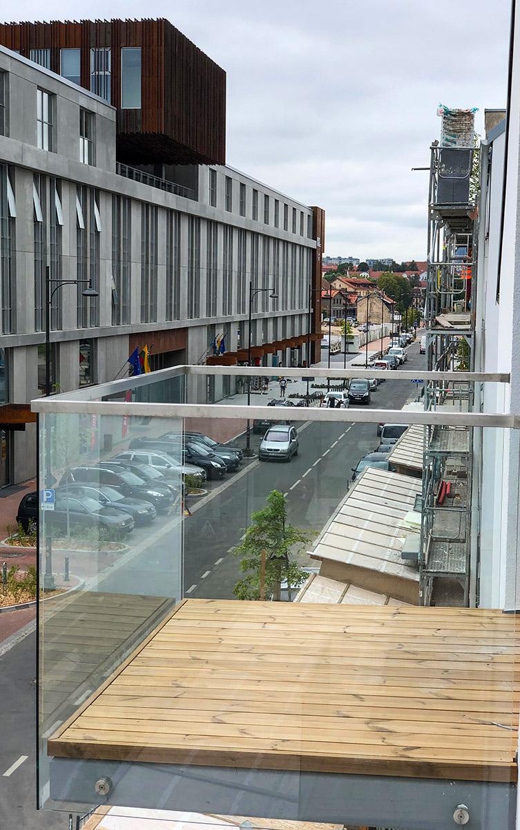 Balkono irengimas