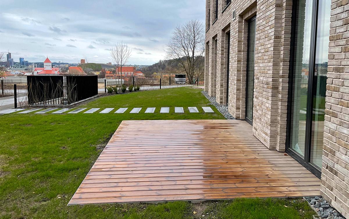 Medinė terasa | Terasustatyba.lt